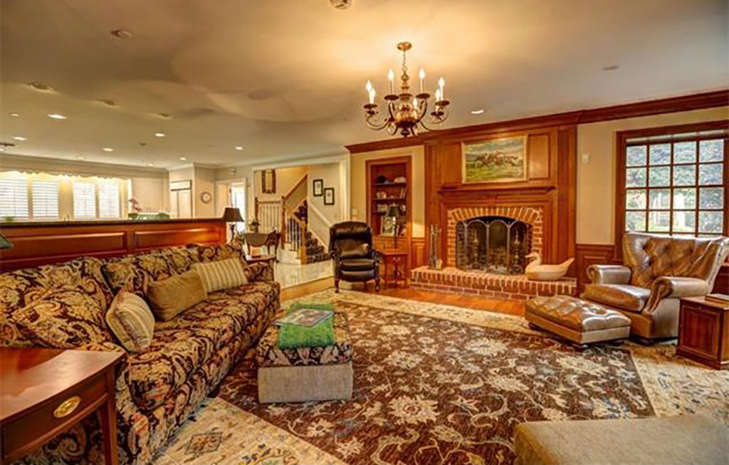 """Called """"Starwood,"""" the three-story house was built in 1984 and includes six bedrooms, six full bathrooms and two half baths. (Courtesy CVRMLS)"""