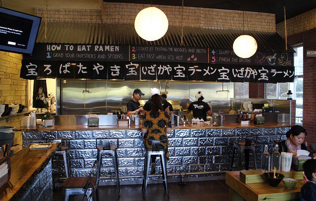 Takara Ramen opened Oct. 10 at 9468 W. Broad St.