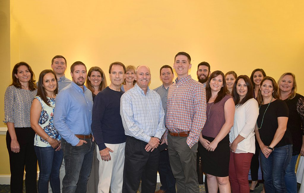 A group photo of the combined WebStrategies staff. (Courtesy WebStrategies)