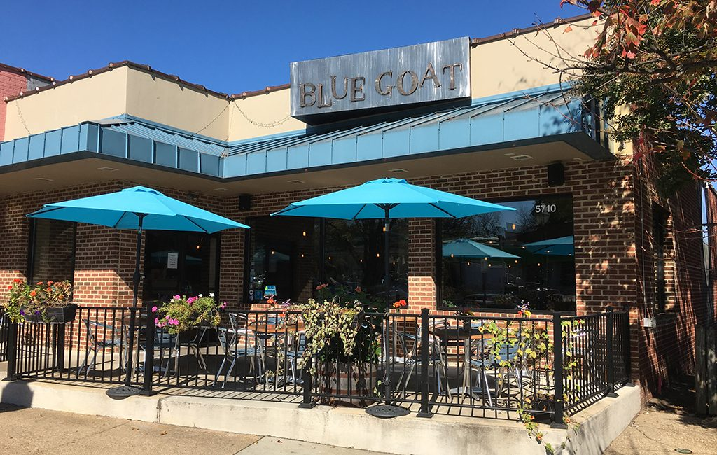 The Blue Goat restaurant at 5710 Grove Ave. in Westhampton will close temporarily and be overhauled to become a Chinese restaurant called Beijing on Grove. (J. Elias O'Neal)