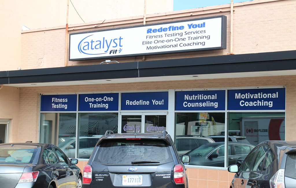 Catalyst Fit opened at 6000 W. Broad St., in the same retail strip as Mekong Restaurant & Bar. (Michael Thompson)