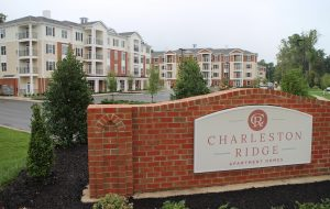 The one- and two-bedroom units vary between 12 floorplans and include balconies and 24-hour clubhouse access. (Jonathan Spiers)