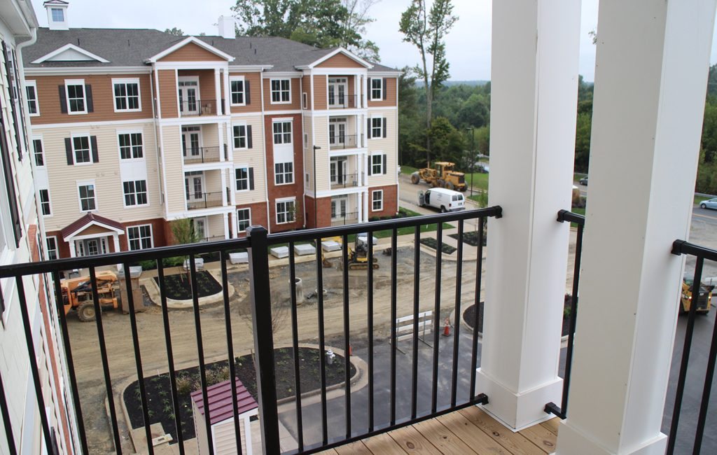 Finishing touches are being made to Charleston Ridge Apartments, which will welcome its first residents Oct. 15. (Jonathan Spiers)