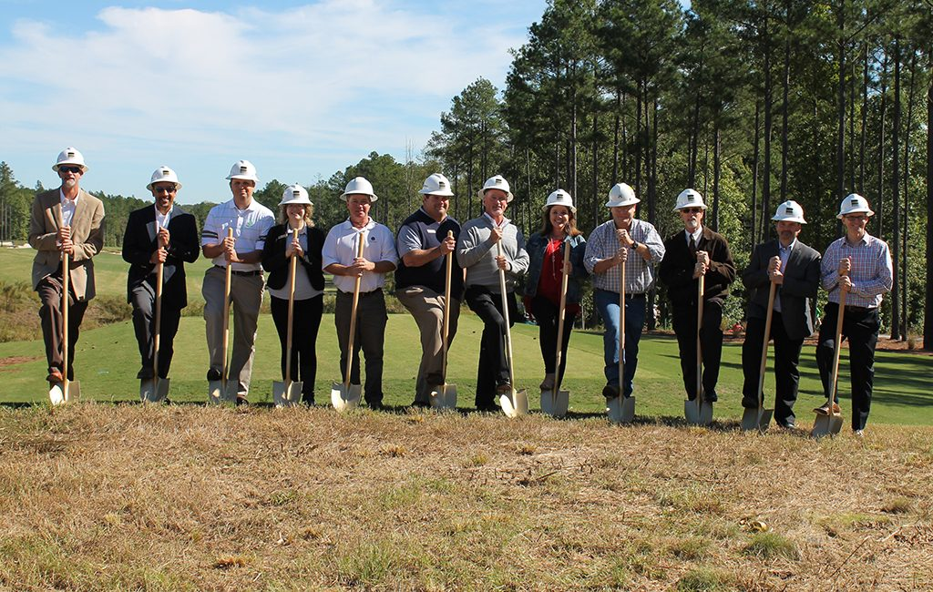 The developers of Magnolia Green held groundbreakings on Tuesday for more than $10 million of construction. (Courtesy iStar)