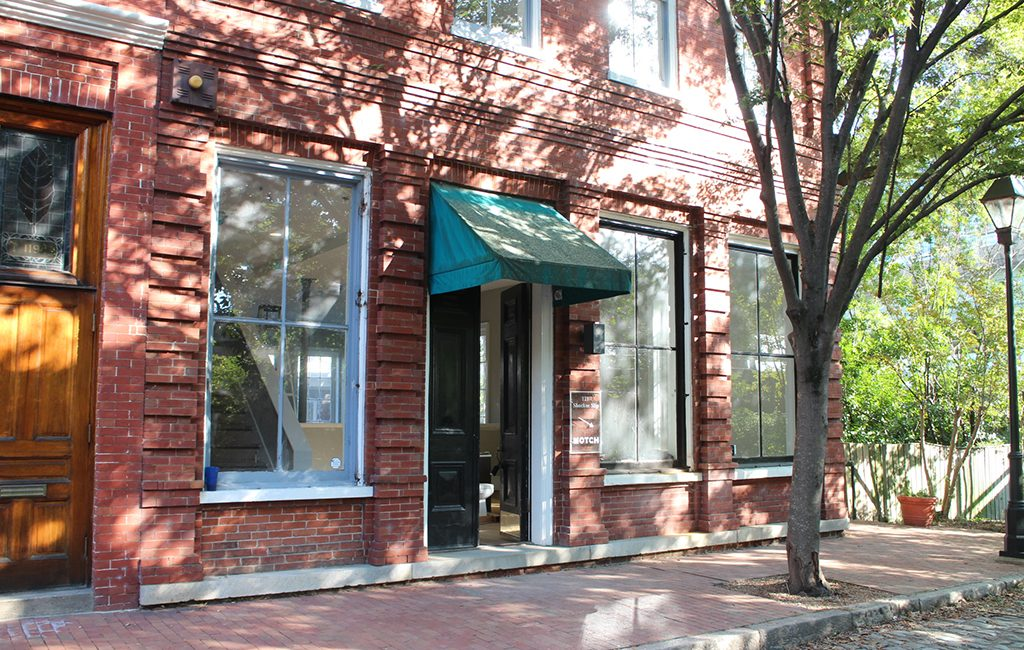 digital agency HeliumStudio is moving to a building it recently purchased at 121 Shockoe Slip. (Jonathan Spiers)