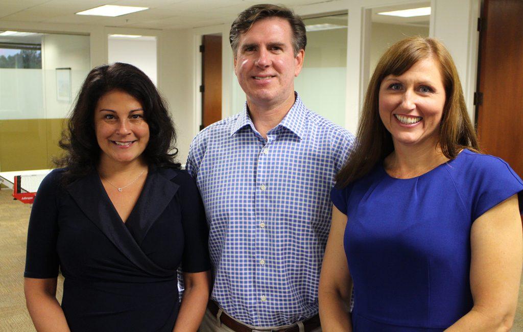 Christina Willis, David Andrews, and Loretta Cataldi. (Michael Thompson)
