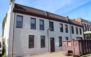 The property at 2915-2919 W. Leigh St., just off North Boulevard in Scott's Addition, was bought in September. (Michael Thompson)