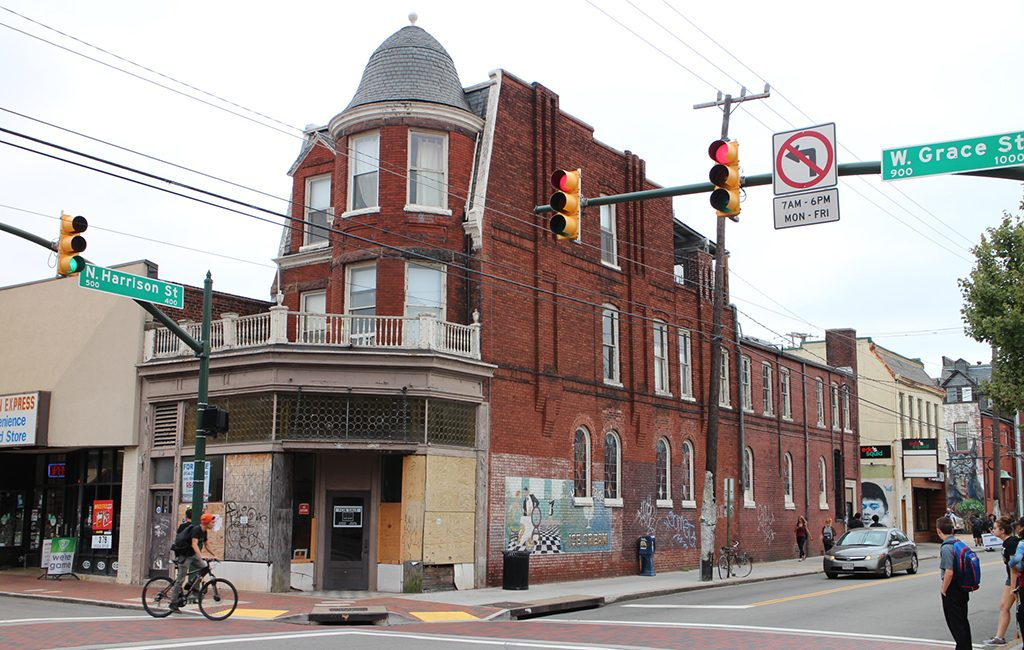 939 W. Grace St. was purchased Monday, formerly home to the Village Café and other restaurants. (Michael Schwartz)