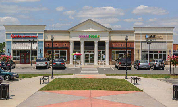 The Stonebridge Marketplace Shopping Center sits at 7000 Tim Price Way, on the Richmond-Chesterfield border. (Courtesy S2 Capital Partners)
