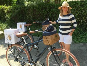 Anne Poarch launched Bike & Basket shortly after the 2015 UCI bike races in Richmond.