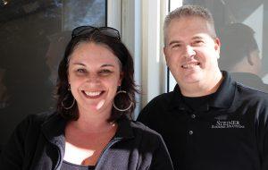 Kelly Walker and Dan Steiner.