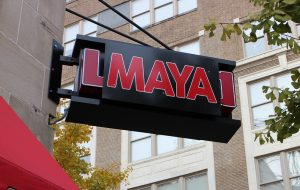 Maya Modern Mexican opened on the ground floor of the Berry Burk building last month. (J. Elias O'Neal)