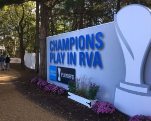 The Dominion-anchored Richmond event was a three-day, 54-hole tournament with a $2 million purse. (Michael Schwartz)