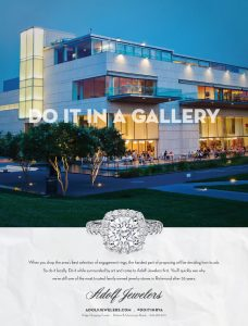 """Barber Martin Agency's campaign encourages audiences to """"do it,"""" meaning """"propose,"""" at various locations around Richmond, like the VMFA. (Courtesy Barber Martin)"""