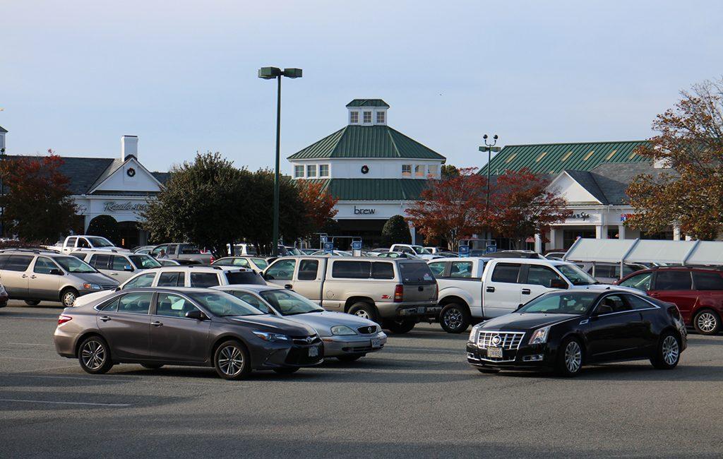 The Shoppes at Bellgrade, a 57,000-square-foot strip 11400 W. Huguenot Road. (Kieran McQuilkin)