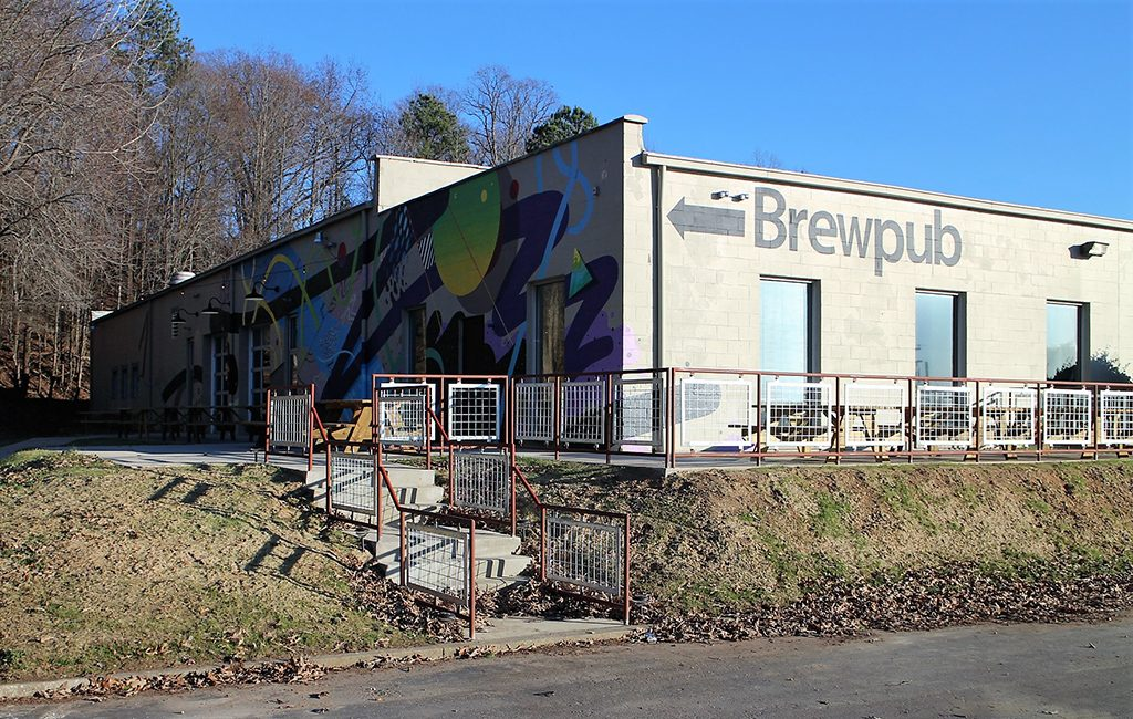 Triple Crossing Brewing opened its new outpost Friday at 5203 Hatcher St. in the Fulton neighborhood. (J. Elias O'Neal)