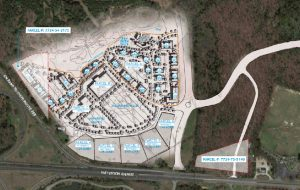 Site plan courtesy of Goochland County.