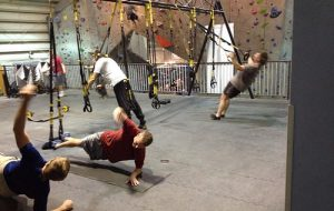 Peak Experiences has a gym and training facility, in addition to its climbing walls. (Courtesy Peak Experiences)