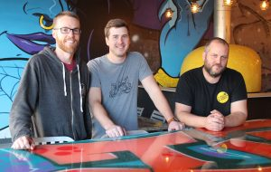 From left: owners Adam Worcester, Scott Jones and Jeremy Wirtes. (J. Elias O'Neal)