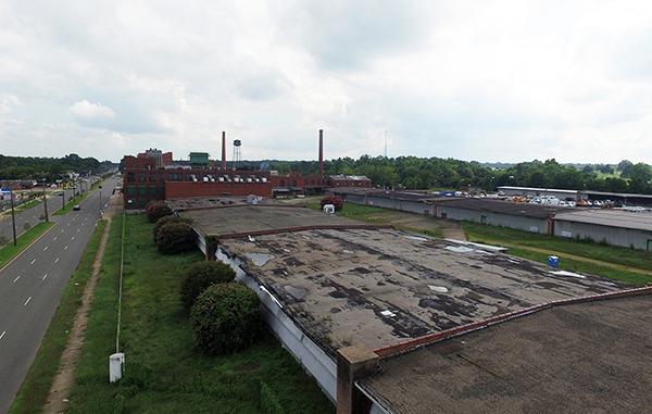 The American Tobacco site at 800 Jefferson Davis Highway. (Kieran McQuilkin)
