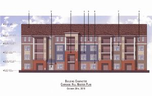 Bonaventure Realty Group received approval from Henrico supervisors Tuesday to add two buildings totaling 267 units.