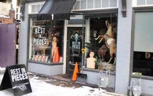 Rest In Pieces will leave its current storefront in mid-February. (Mike Platania)
