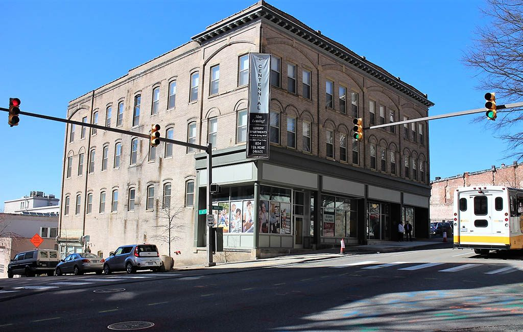 Chicano's Cocina Bar & Grill is set to open in the ground level of the Centennial Building at the corner of Sixth and Main streets. (J. Elias O'Neal)