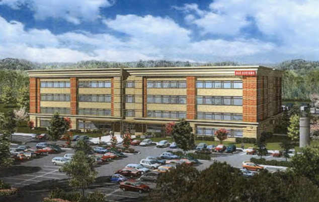A rendering of the planned office space at Duke Homes' Bacova development.