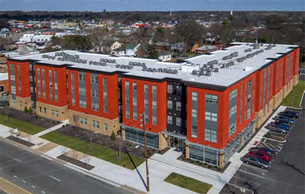 The 103-unit Spectrum apartment property at 2017 Brook Road was sold for $11.4 million.