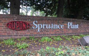 spruance plant sign
