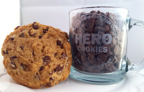Hero Cookies is a local startup that bakes and ships gluten-, dairy- and egg-free cookies. (Courtesy Hero Cookies)