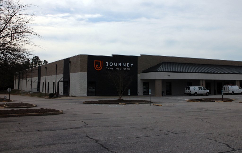 Journey is renovating the former Costco store at 3700 Price Club Blvd. in Midlothian. (Mike Platania)