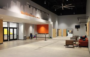The redesign included designated annexes for youth services. (Mike Platania)