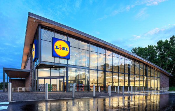 Lidl built a test store for its U.S. designs in Fredericksburg. (Courtesy Lidl)