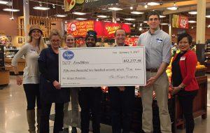 Kroger made a $52,000 donation to FeedMore Virginia. (Courtesy Kroger)