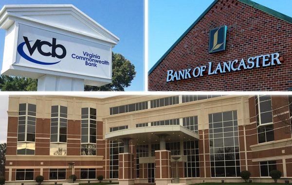 Virginia Commonwealth Bank, soon to merge with Bank of Lancaster, signed a lease at 1801 Bayberry Court in the West End.