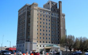 Project Homes purchased and renovated the former William Byrd Hotel in 1996 as low-income senior housing. (Jonathan Spiers)