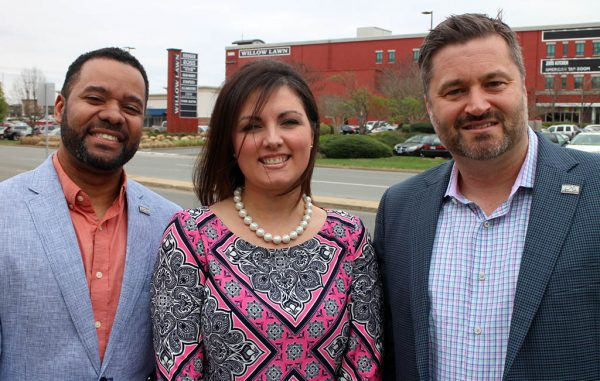 From left: Dell Claiborne, Krystal Mansfield and Jamie Clark are staffing up Statewide Commercial's office in Richmond. (J. Elias O'Neal)