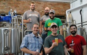 Buskey Cider and Center of the Universe Brewing collaborated on a gluten-reduced brew. (COTU)