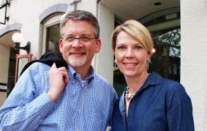 Kahler Slater's Al Krueger and Kim Bruffy. (Jonathan Spiers)