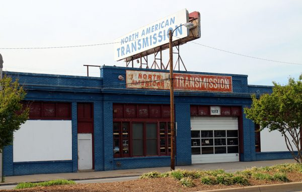 the North American Transmission building at 1208-1216 N. Boulevard sold for $1.29 million. (Kieran McQuilkin)