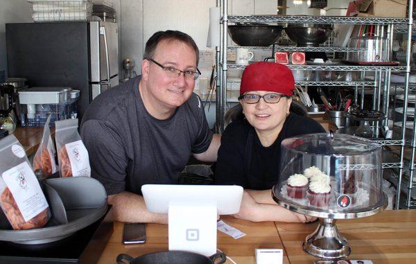 Owners Jon and Martine Wladar. (Mike Platania)