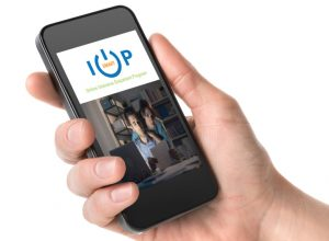 The smartIOP program uses an app to help track and connect to patients. (Courtesy Williamsville Wellness)