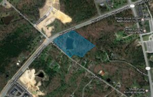 Home construction was approved for a 3.5-acre parcel at North Gayton and Kain roads.