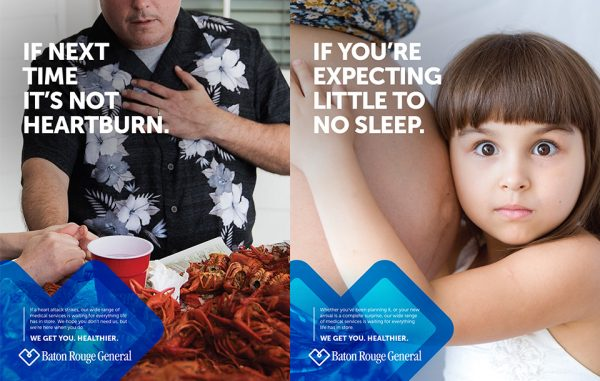Ndp launched an integrated campaign for Baton Rouge General Medical Hospital in Louisiana.