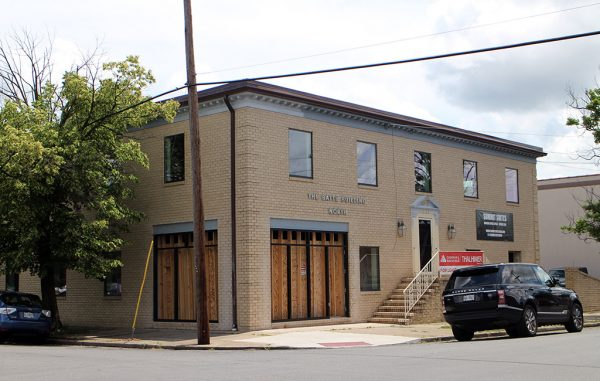 Four tenants have signed leases for the building at 3122 W. Marshall St. (Michael Schwartz)