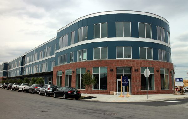 Impact Makers will occupy 13,000 square feet of the three-story commercial building's second floor. (Michael Schwartz)