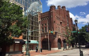 The project could include redeveloping the 6th Street Marketplace and Blues Armory property. (Kieran McQuilkin)