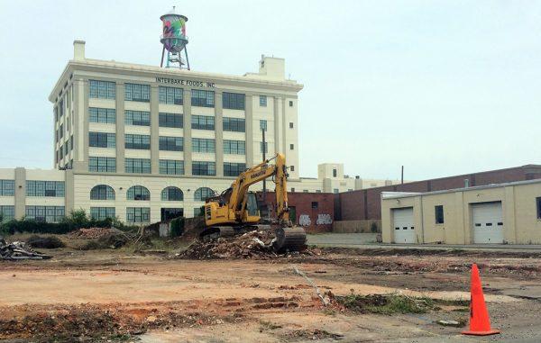 Site work is underway at 939 Myers St. (Kieran McQuilkin)