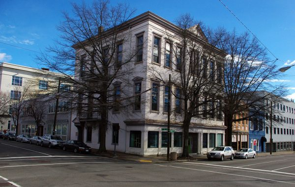 The building at 300 E. Main St. will be converted into commercial space and 10 apartments. (J. Elias O'Neal)